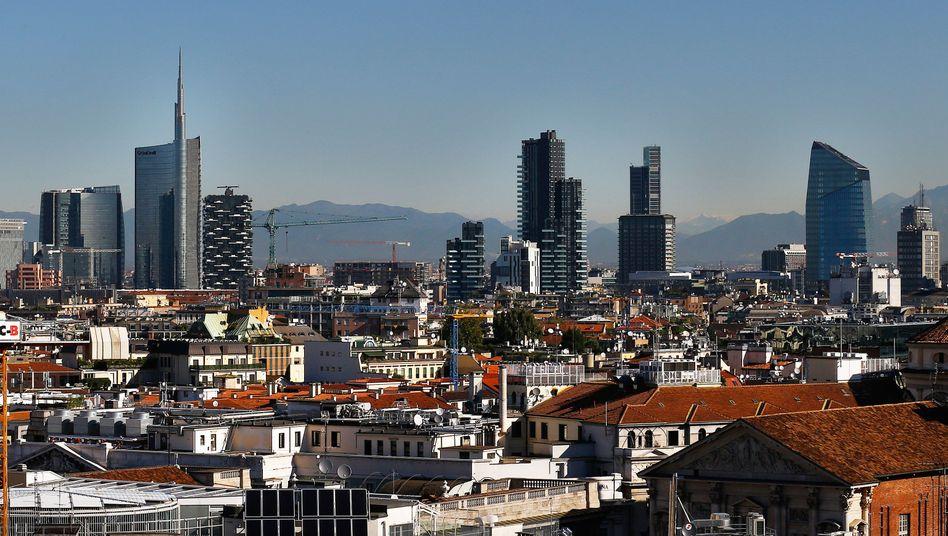 Finanzviertel in Mailand