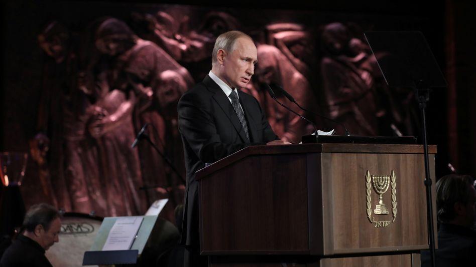 Staatschef Putin in Jerusalem