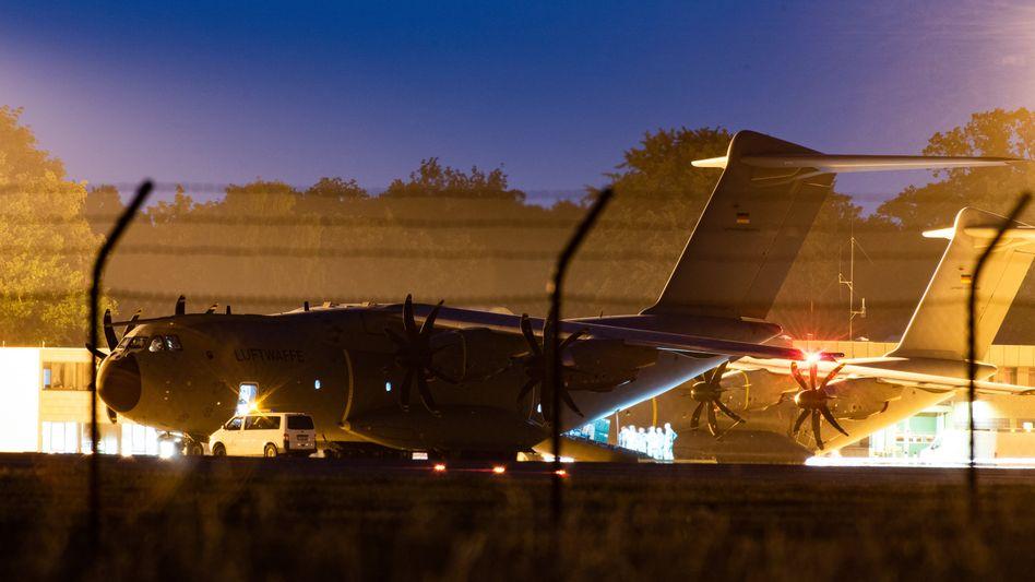 Die fliegende Krankenstation: der A400 M der Luftwaffe