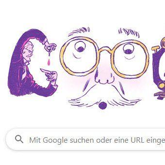 Google Doodle Hans Christian Gram