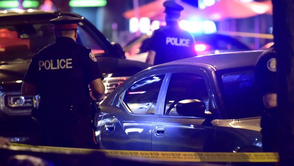 Polizeieinsatz in Toronto