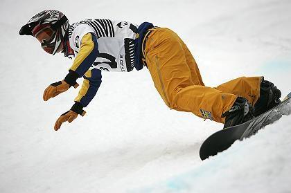 Snowboarder Johansson: Halswirbel gebrochen