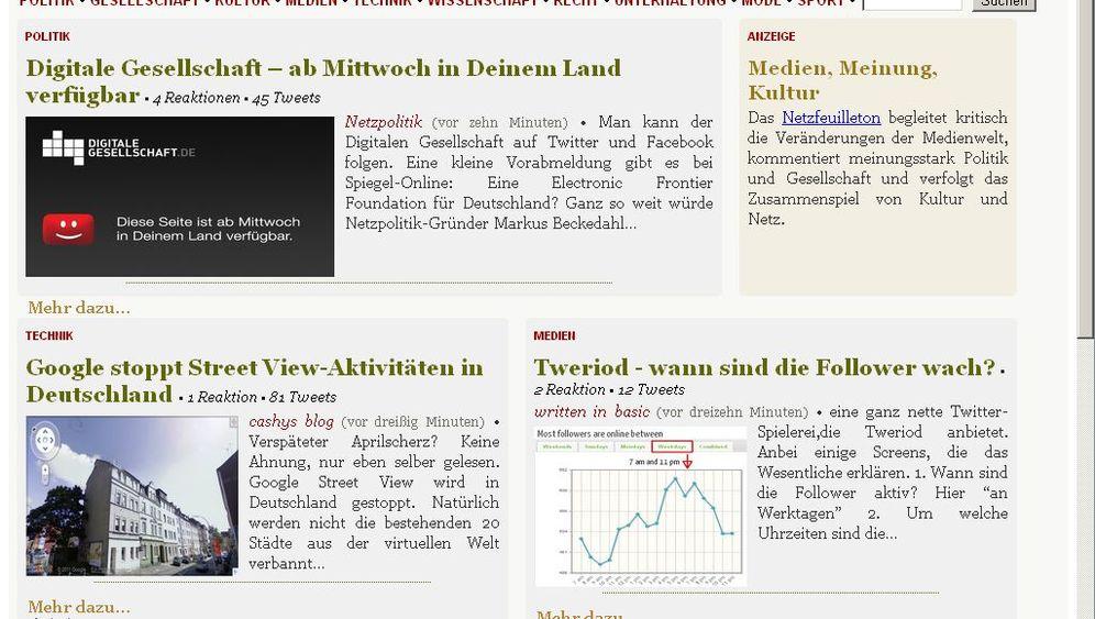 Aggregatoren: Hyper Hyper in der Blogosphäre