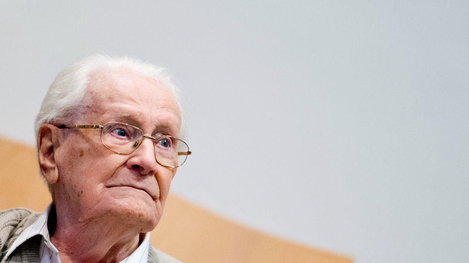 Oskar Gröning: Angeklagt wegen Beihilfe zum Massenmord