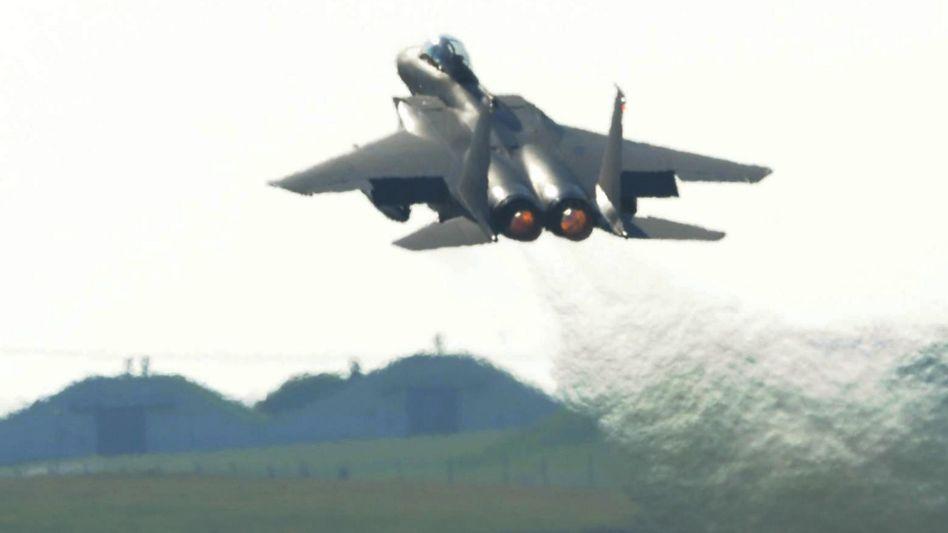 F15-Kampfbomber: USA liefern Dutzende Flugzeuge an Saudi-Arabien