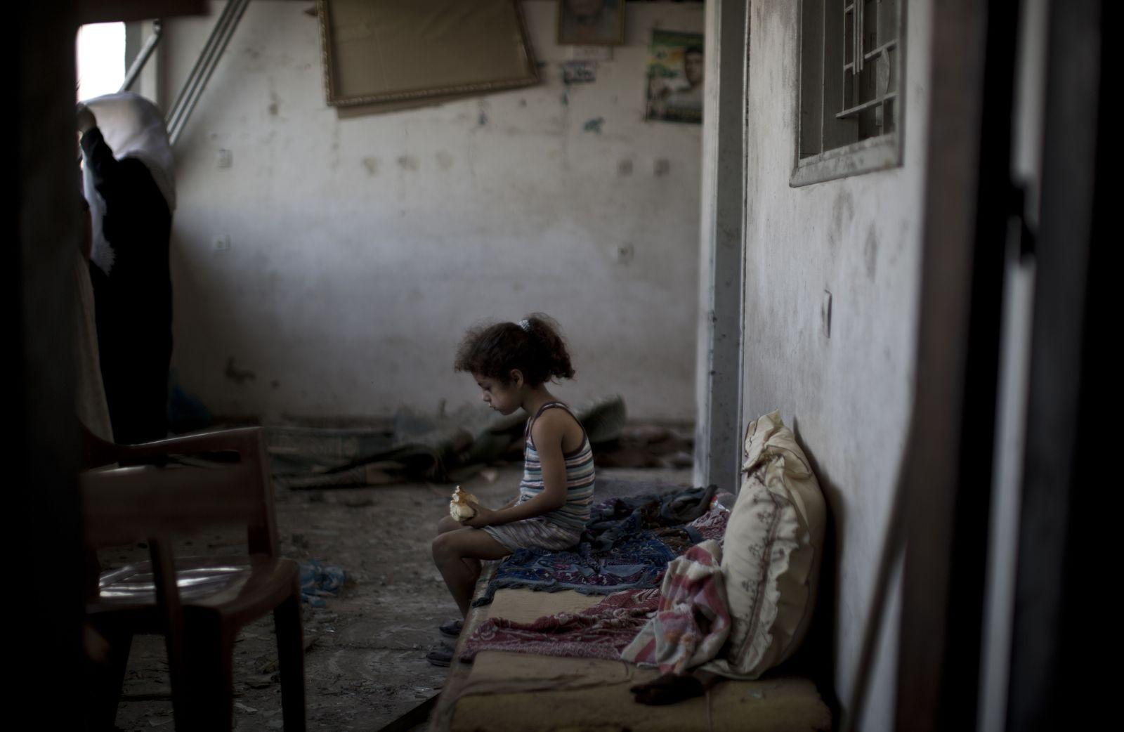 Palästinensisches Kind