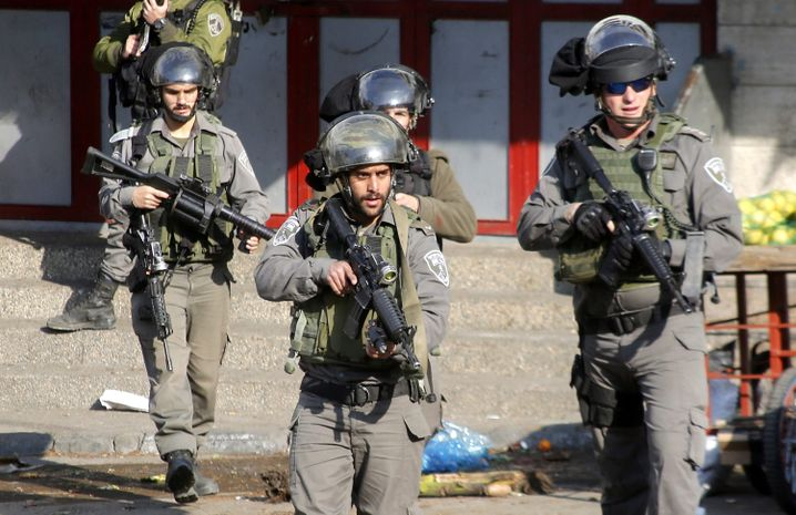 """Israelische Grenzsoldaten: """"Die ganze Welt will die Zwei-Staaten-Lösung"""""""