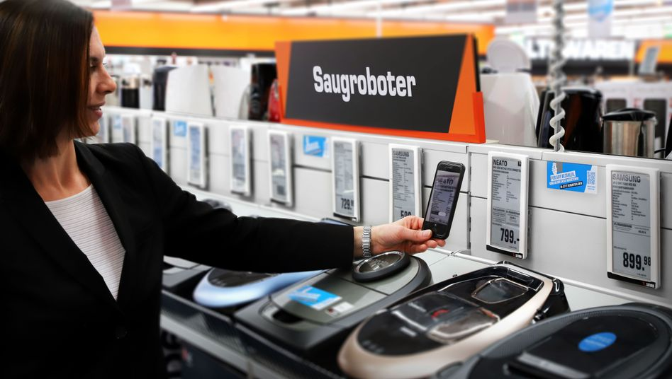 Produkterfassung am digitalen Preisschild
