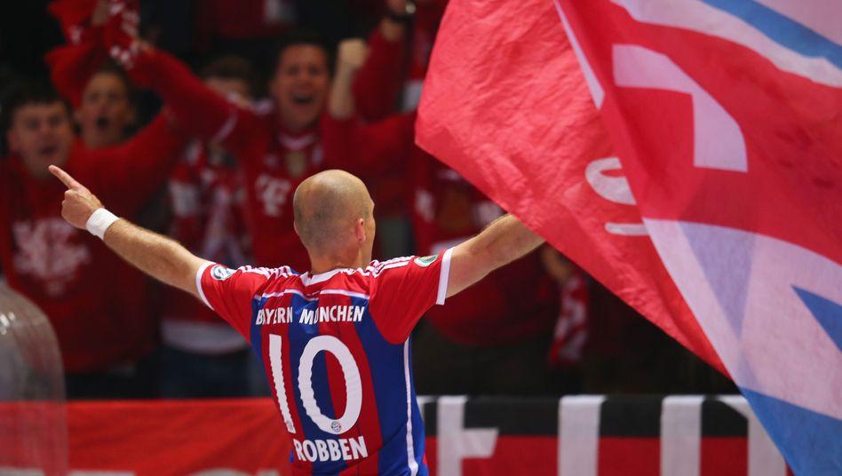 Arjen Robben: Jubel über Vorentscheidung