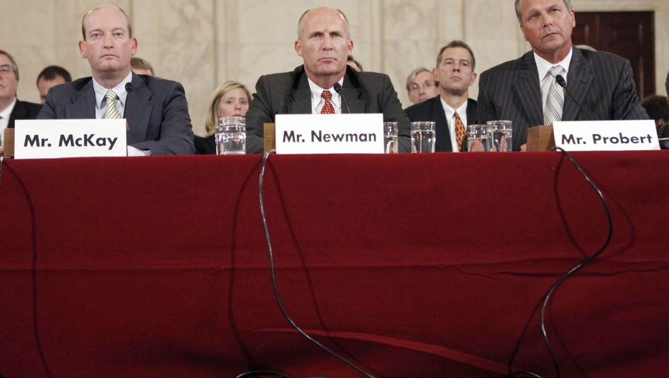 Anhörung im US-Senat: BP-Amerika-Chef McKay mit potentiellen Verantwortlichen