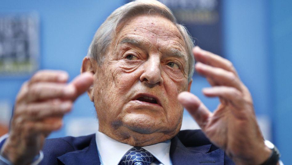 """US-Milliardär Soros: """"Die Lage ist äußerst prekär"""""""