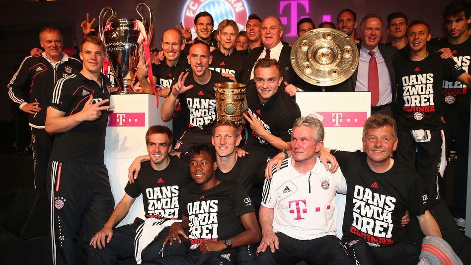 Bayerns Saison-Highlights: Die Siege, die Titel, der Jubel