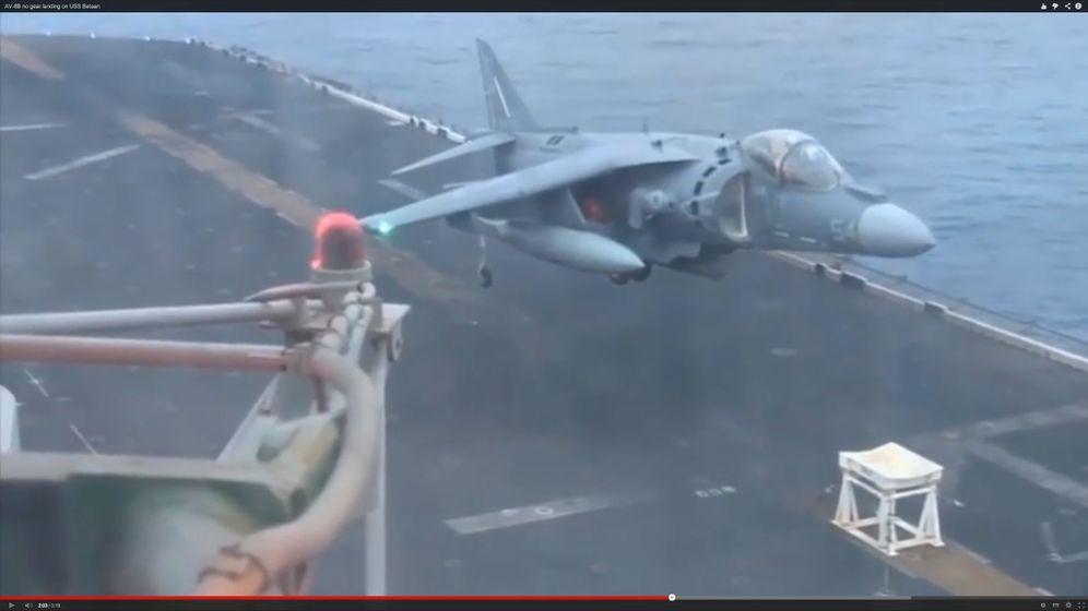 """Notlandung von """"Harrier""""-Jet: Maßarbeit auf hoher See"""