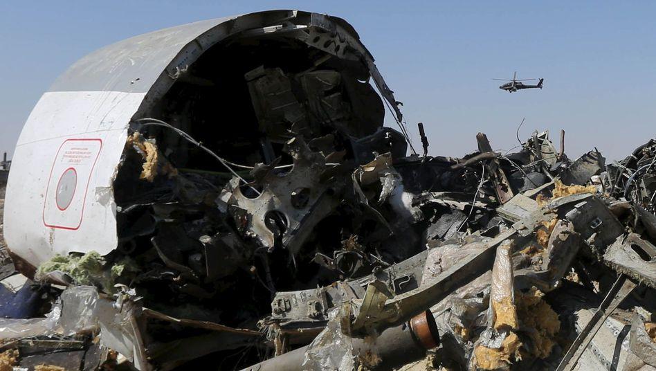 Airbus-Absturz über dem Sinai: Hinweise auf Bombe an Bord verdichten sich