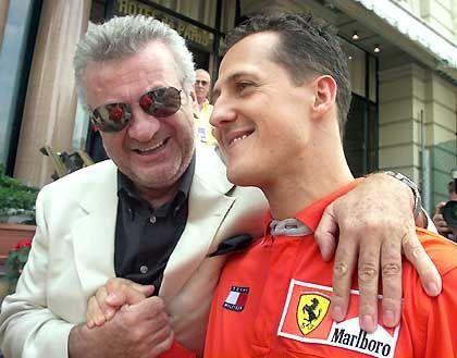 """Willi Weber (l.) und Michael Schumacher: """"Das passt doch nicht zusammen"""""""