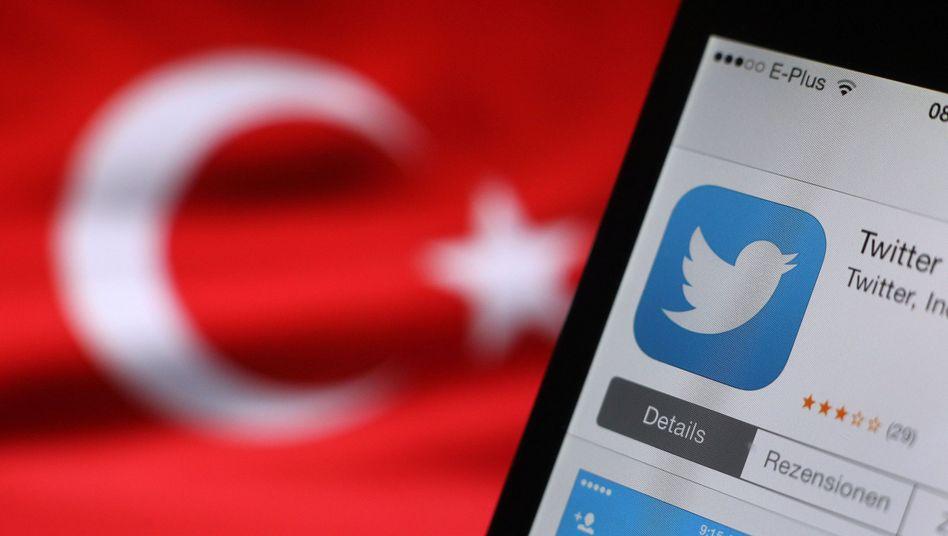 Twitter: In der Türkei zwischenzeitlich nur auf Umwegen zu erreichen