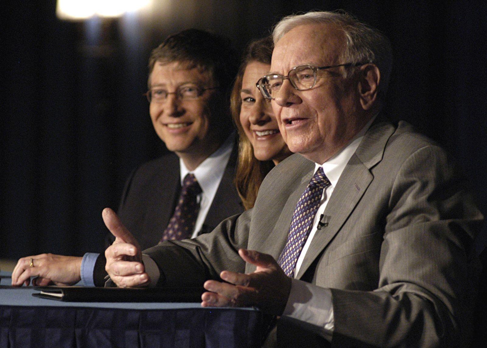 Bill Gates / Warren Buffett / USA / Reiche
