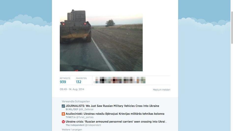 """Screenshot von Tweet eines """"Guardian""""-Journalisten: Regelmäßige Kolonnen"""