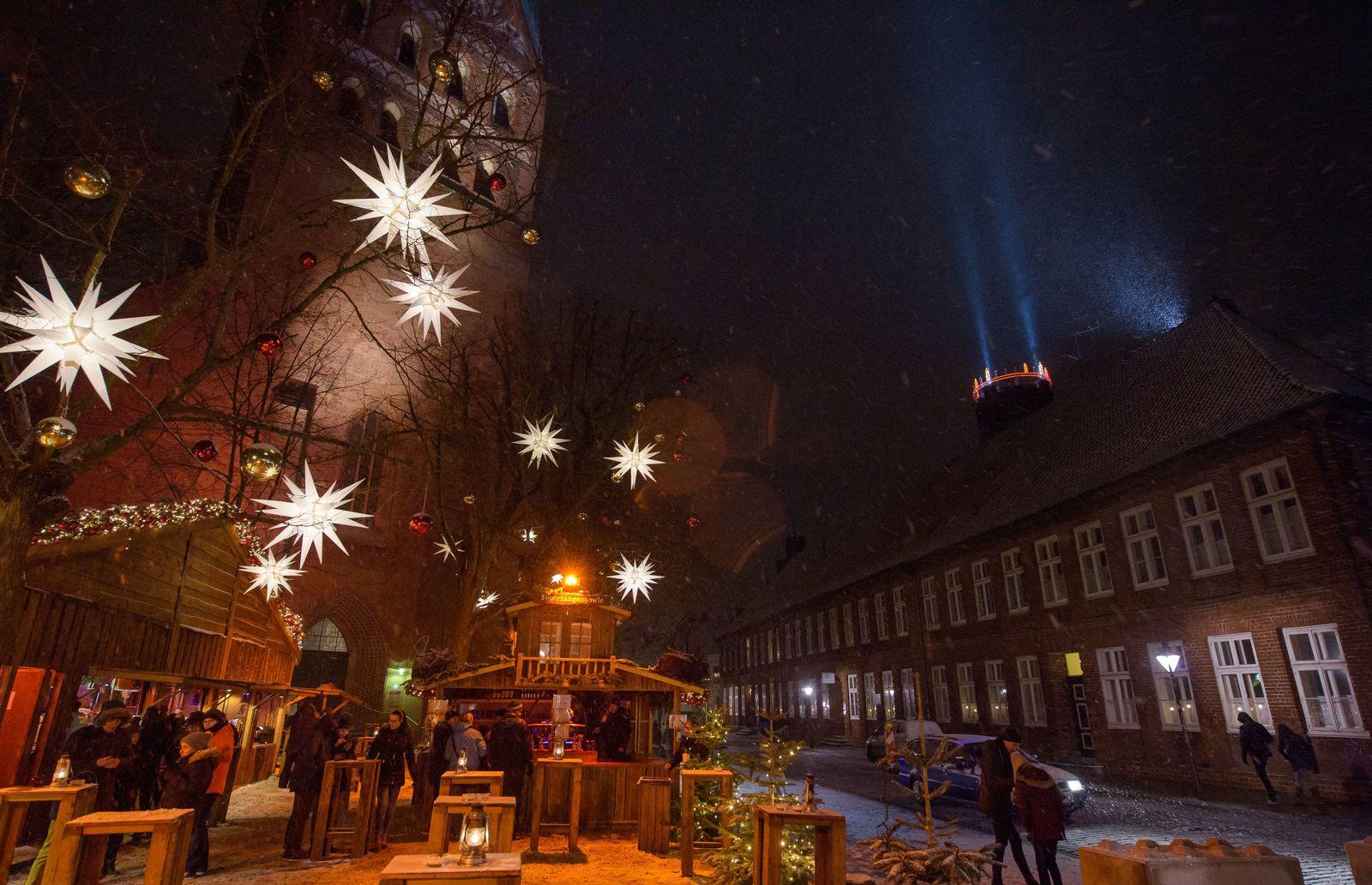Weihnachtliches Lüneburg