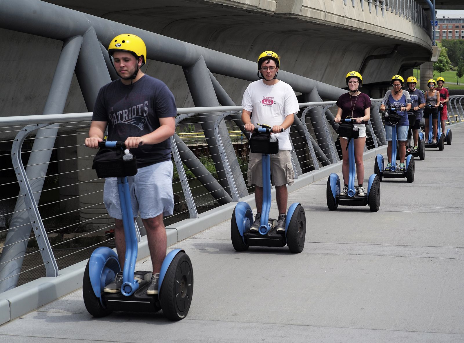 Segway to stop production of PT Model in July 2020, Boston, USA - 30 Jul 2015