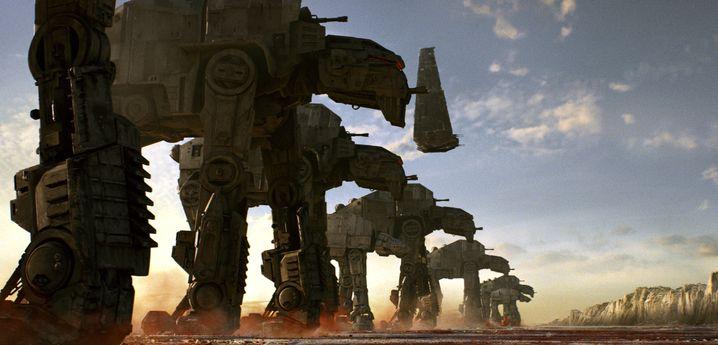 """Filmszene aus """"Star Wars: Die letzten Jedi"""""""