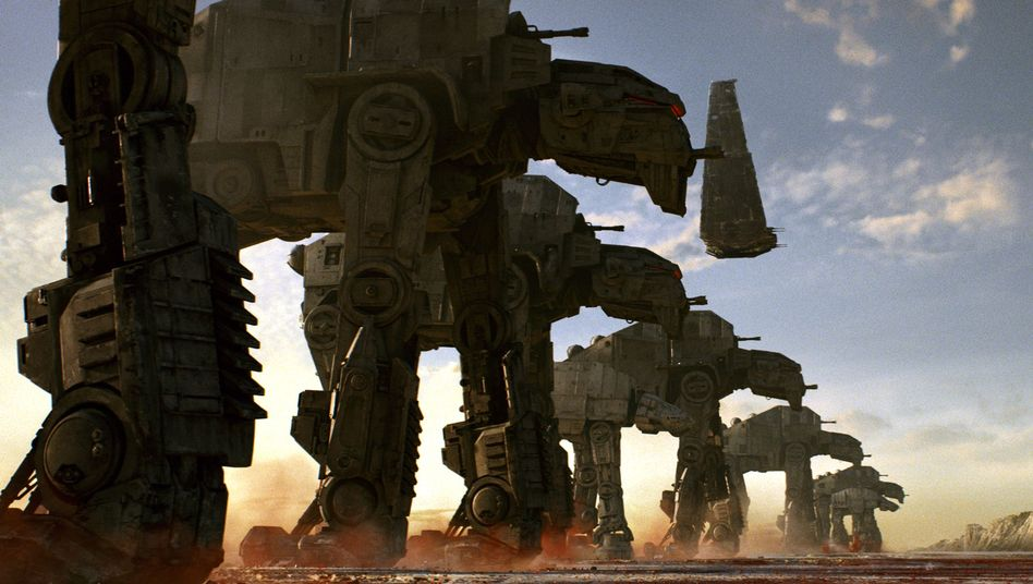 "Szenenbild aus dem Disney-Film ""Star Wars: The Last Jedi"""
