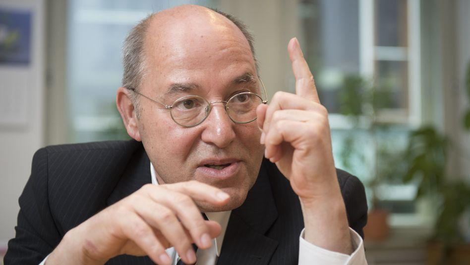"""Linken-Fraktionschef Gysi: """"Was soll die einseitige Wahlkampfhilfe der Kanzlerin?"""""""