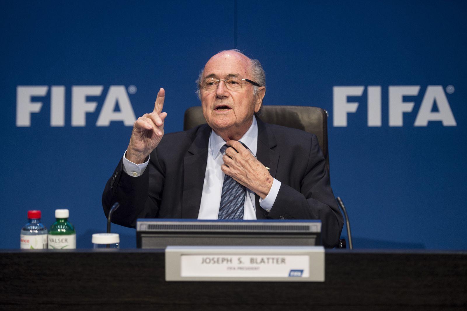 EINMALIGE VERWENDUNG Joseph Blatter / Fifa
