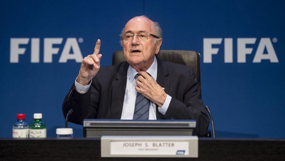Joseph Blatter: Er macht einfach weiter