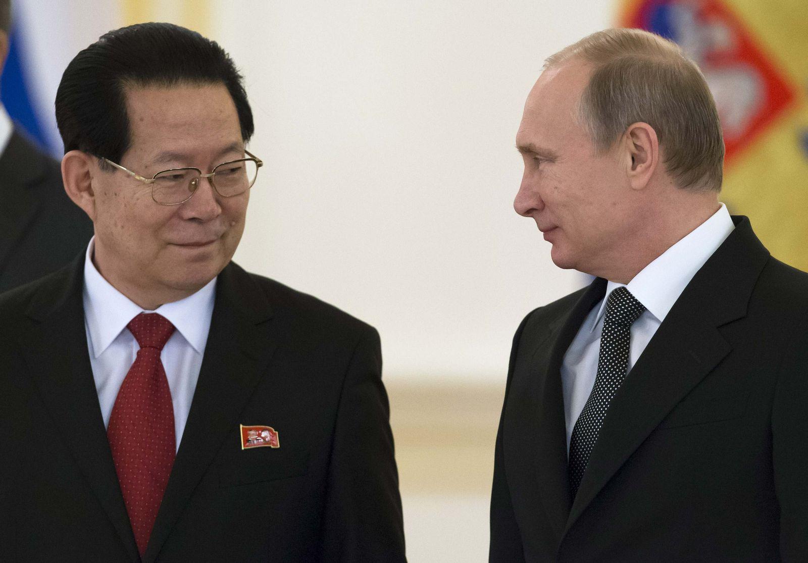 Putin/ Nordkorea