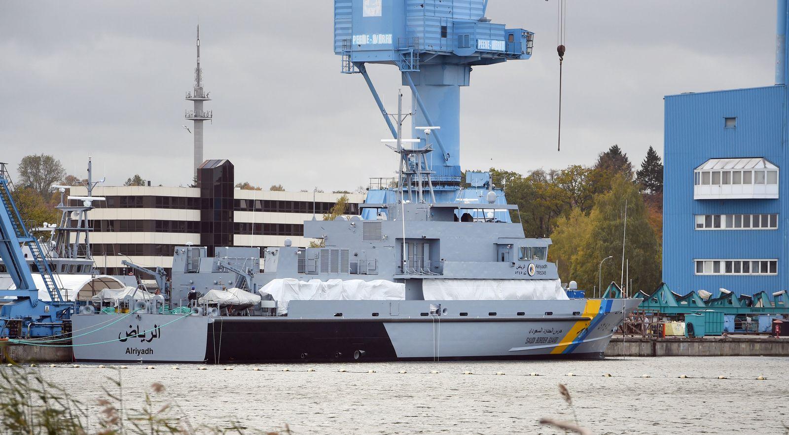 Rüstungsexporte/ Patrouillenboot