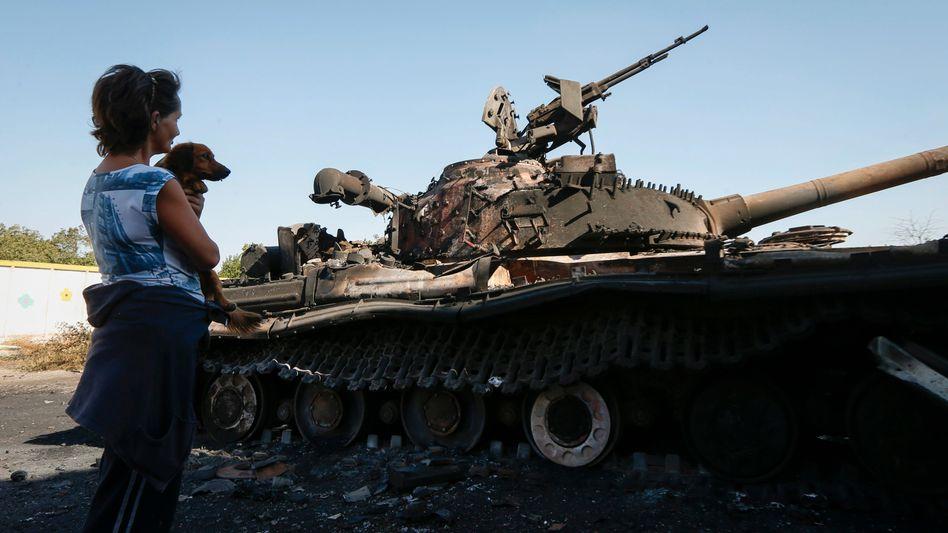 Ukraine-Konflikt: Schwere Explosionen nahe Mariupol