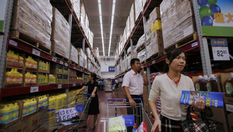 Wal-Mart in China: Die Kette wird von einem Lebensmittelskandal erschüttert