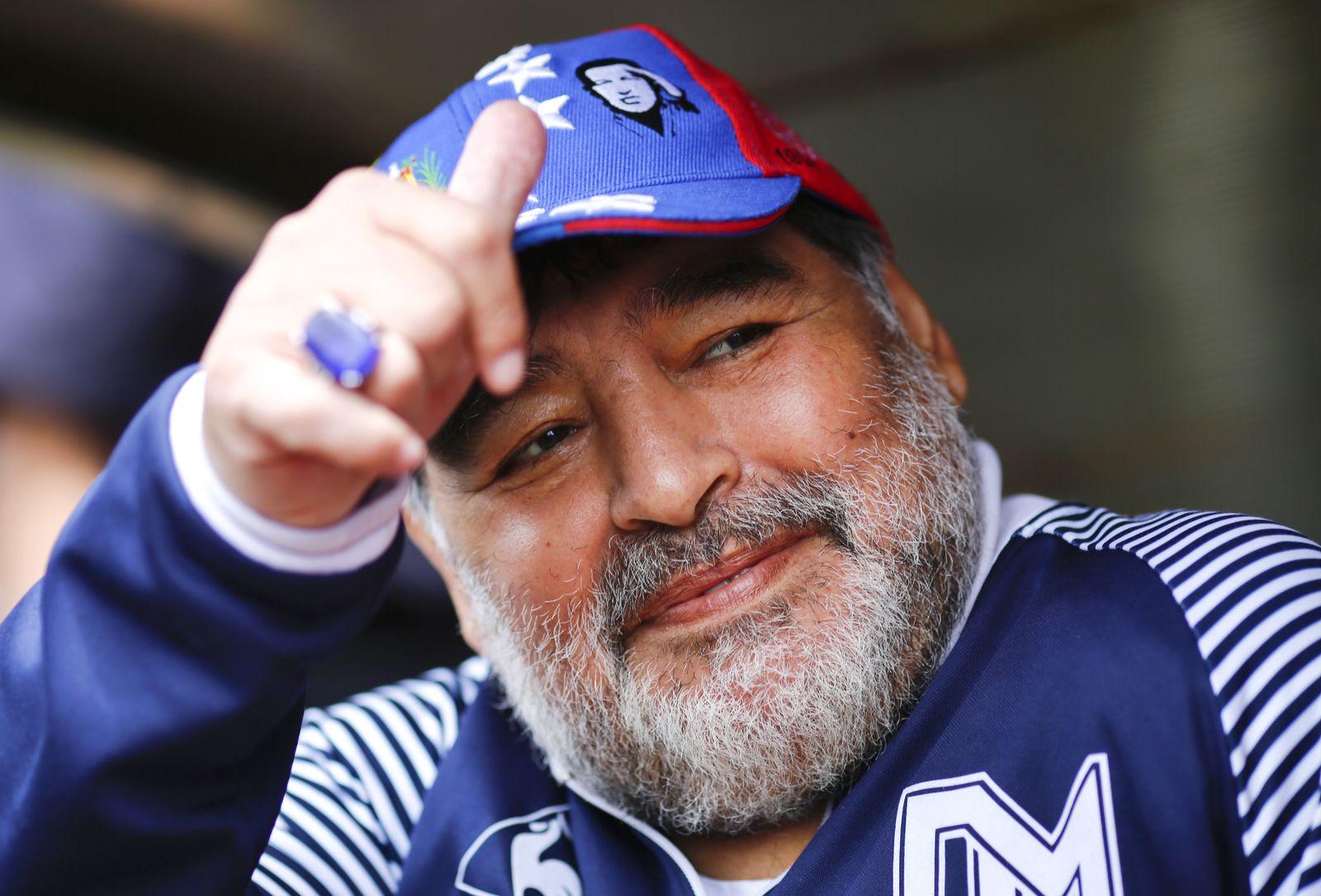 Diego Maradona la Plata