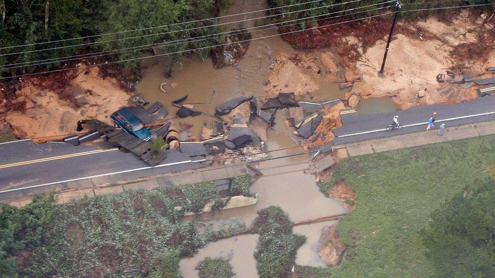 South Carolina: Schwere Überschwemmungen