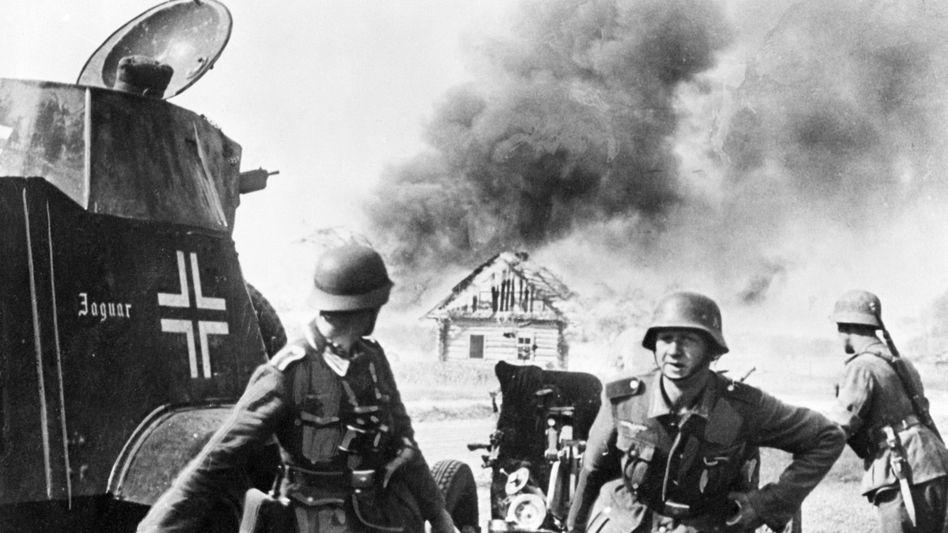 Wehrmachtsoldaten 1941 in Russland: Veteranen gründeten ab 1949 eine neue Armee