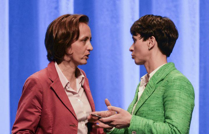 AFD-Frontfrauen Beatrix von Storch, Frauke Petry