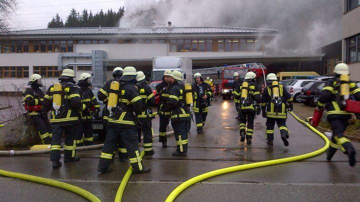 Titisee-Neustadt: Tote und Verletzte bei Brand in Behindertenwerkstatt
