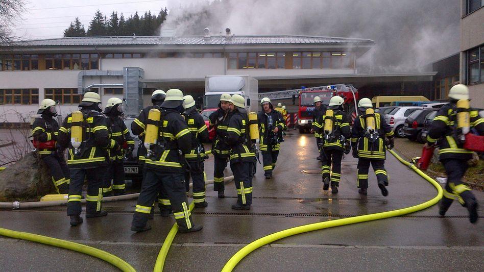 Schwarzwald: 14 Tote bei Brand in Behindertenwerkstatt
