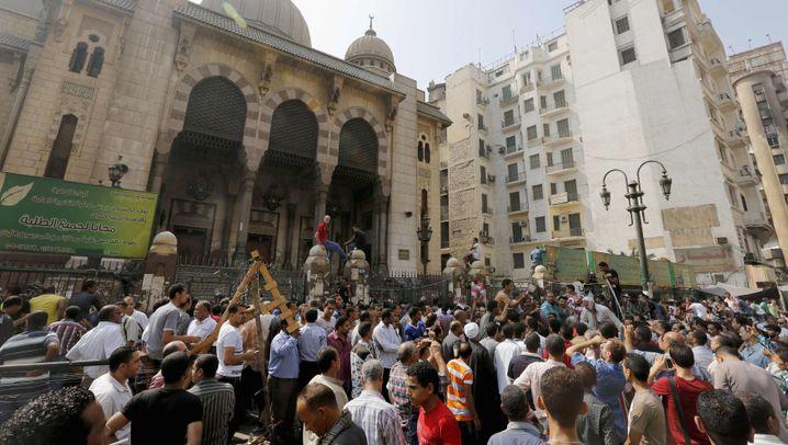 Machtkampf in Ägypten: Brennpunkt Ramses-Platz