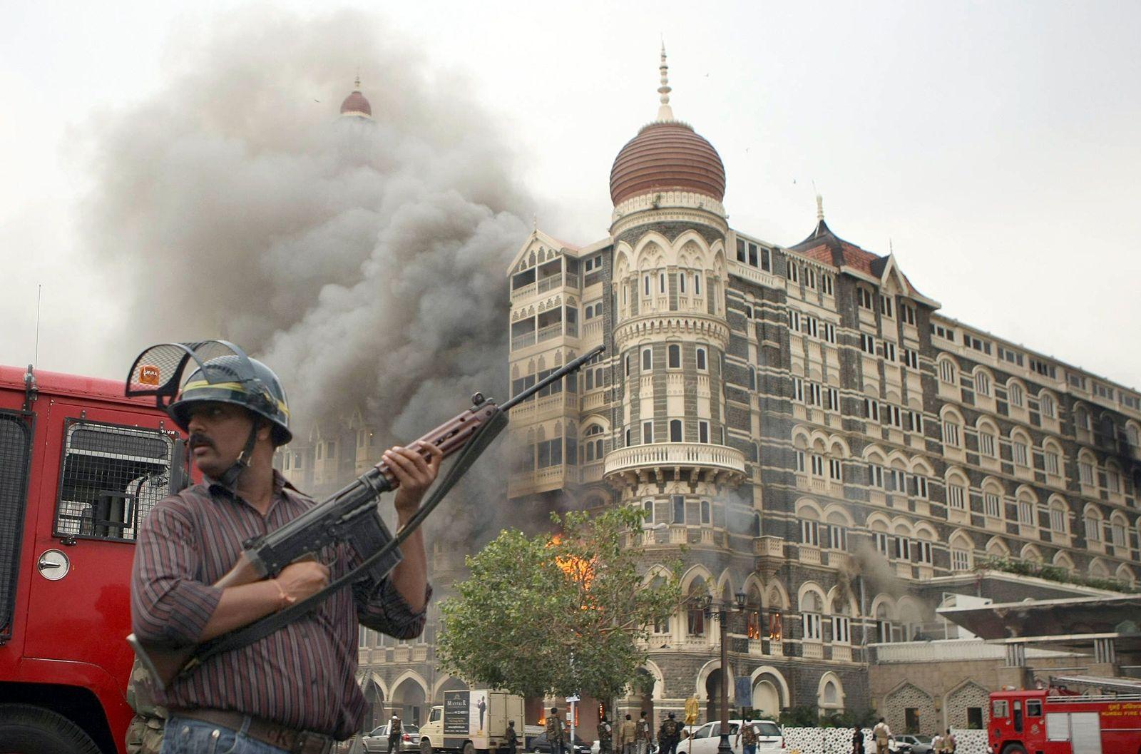 Indien / Mumbai / Anschläge 2008
