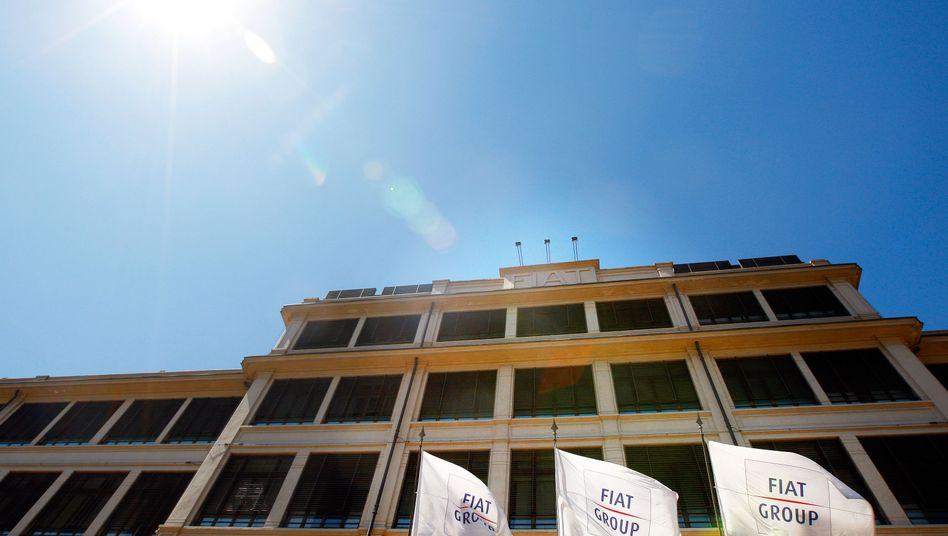 Fiat-Stammsitz in Turin: Umzug in die Niederlande