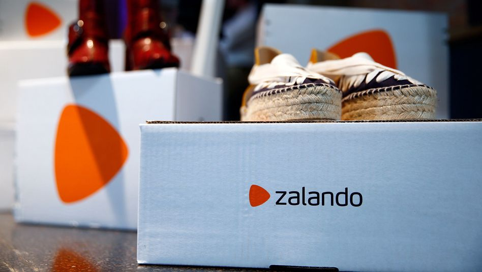 Kartons von Zalando