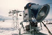 Wintersport-Fachleute als Schneekanonen: Vorsicht, Milzbrand