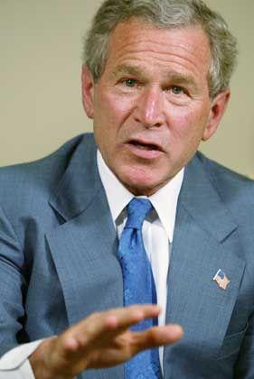 """US-Präsident Bush: """"Ich habe niemals Folter angeordnet. Ich werde niemals Folter anordnen."""""""