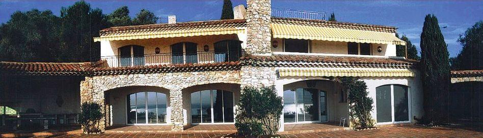 Villa Mas Rayo im französischen Vallauris: Über vier Millionen Euro im Ausland vor den Gläubigern im Inland versteckt?