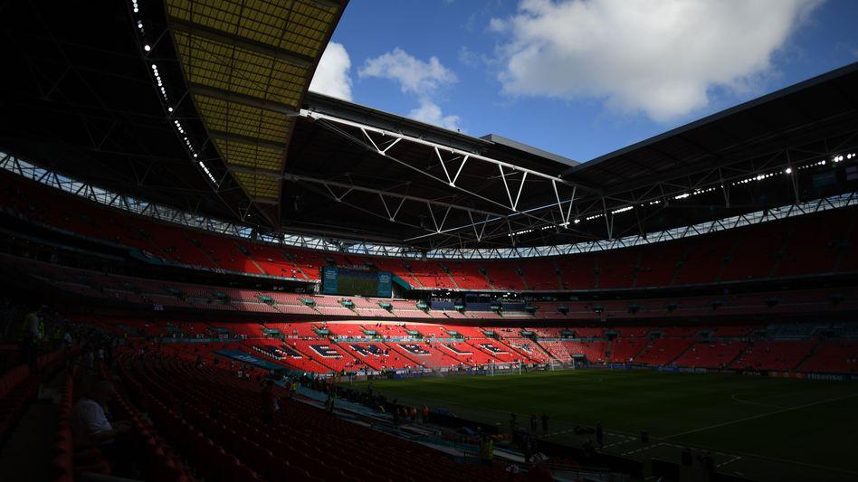 Das Wembley-Stadion