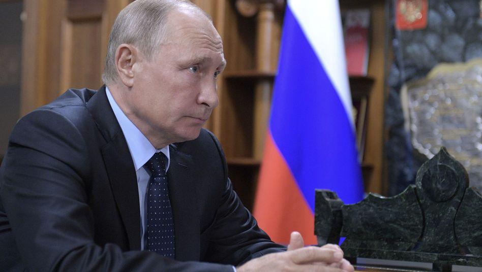 Wladimir Putin (Archiv)