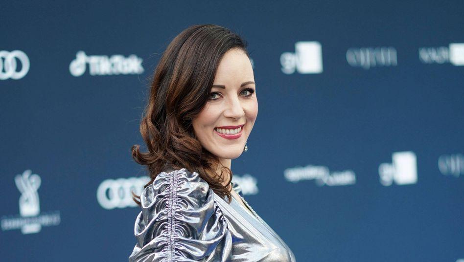 Sängerin und Schauspielerin Jasmin Wagner beim Deutschen Schauspielpreis 2020