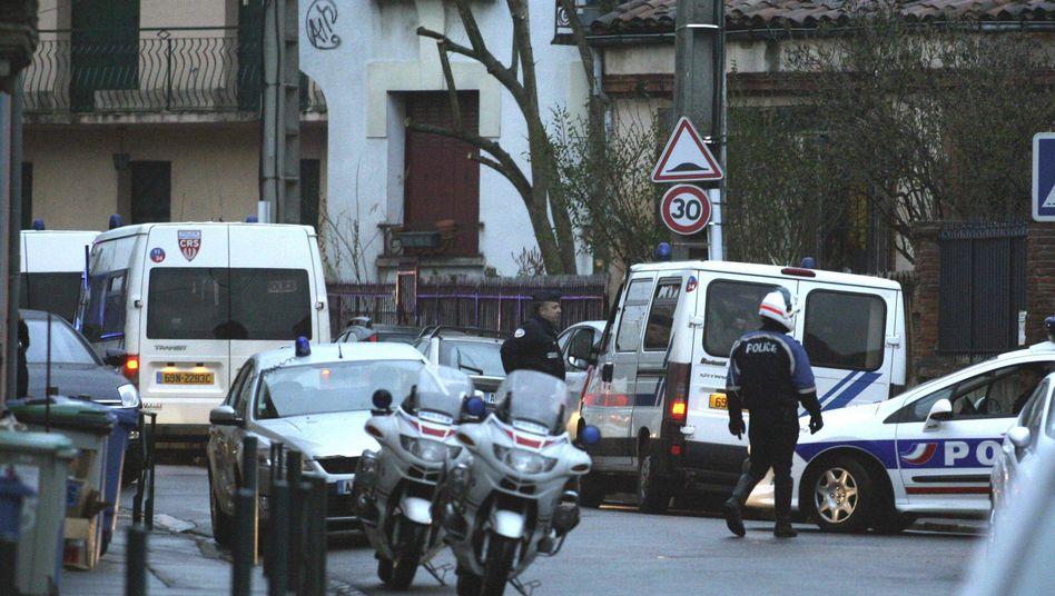 Attentate in Südfrankreich: Polizei belagert Haus von Verdächtigem in Toulouse